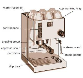 Coffee Maker Parts : Equipment - Caz s Coffee House